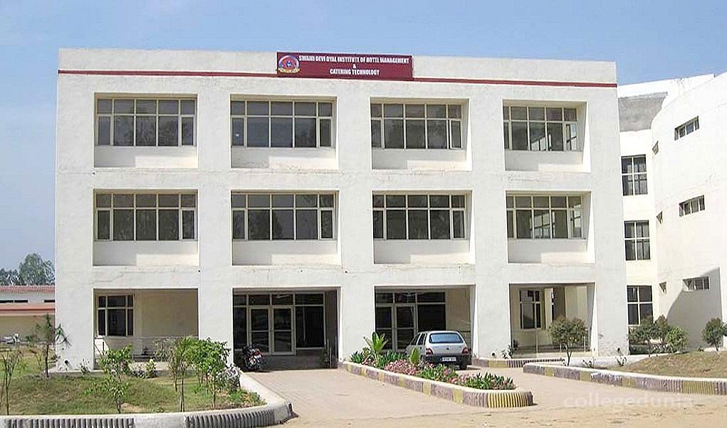 Swami Devi Dyal Institute of Hotel Management and Catering Technology