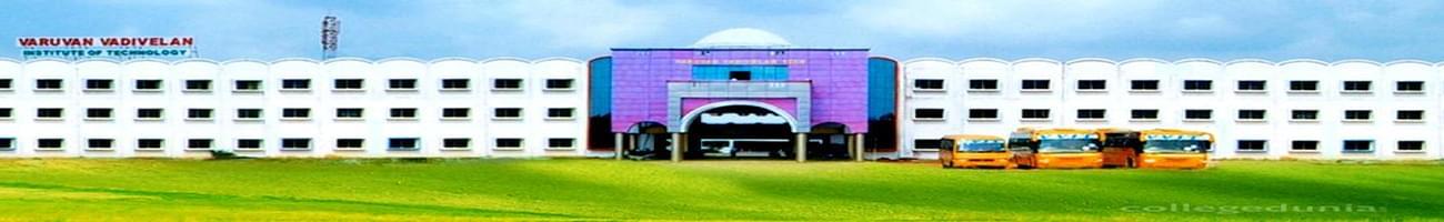 Varuvan Vadivelan Institute of Technology - [VVIT], Dharmapuri