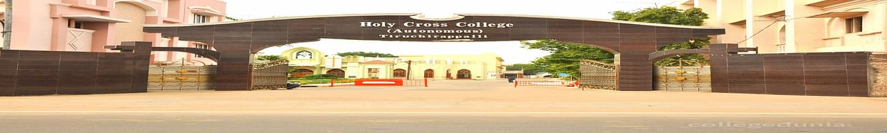 Holy Cross College  (Autonomous), Tiruchirappalli - Course & Fees Details