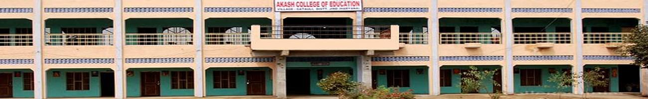Akash College of Education, Jind