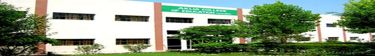 Aklia College of Education for Women, Bathinda