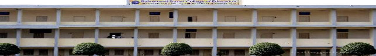Bal Mukund Bazari College of Education, Agra