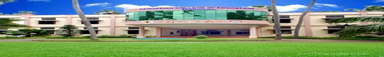 Christian College of Education, Kanyakumari