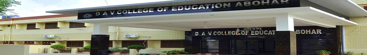 DAV College of Education, Abohar