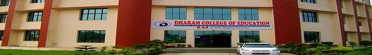 Dharam College of Education - [DCE], Yamuna Nagar