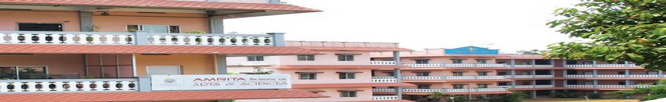 Amrita School of Arts and Sciences - [ASAS], Kochi