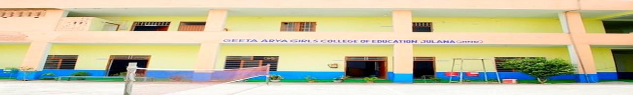 Geeta Arya Girls College of Education, Jind