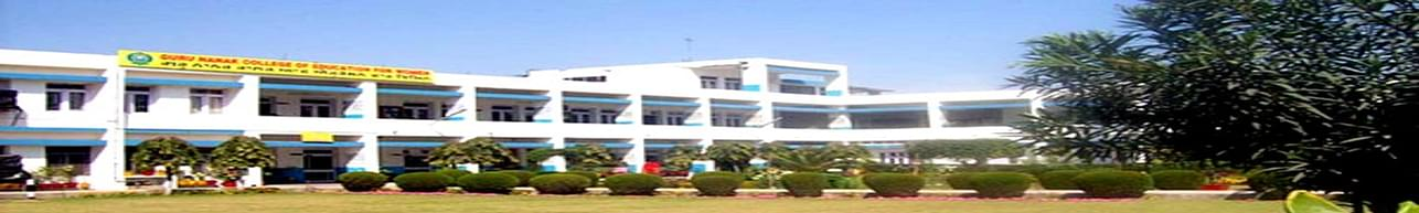Guru Nanak College of Education for Women, Kapurthala