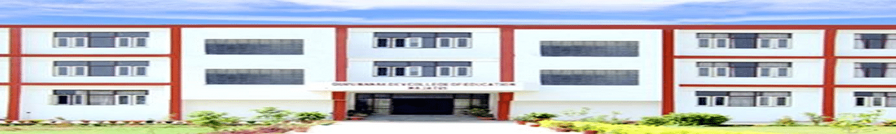 Guru Nanak Dev College of Education - [GND], Mohali