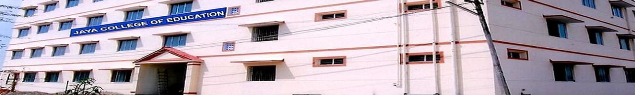 Jaya College of Education, Thiruvallur