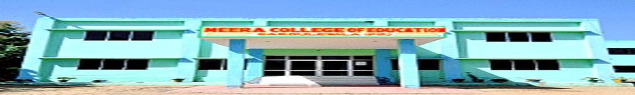 Meera College of Education, Mansa