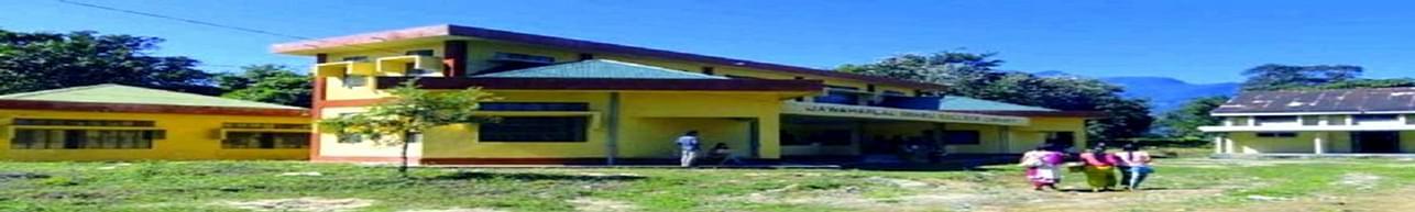 Jawaharlal Nehru College, East Siang