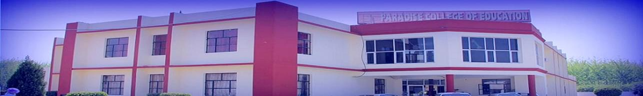 Paradise College of Education - [PCED], Jalandhar