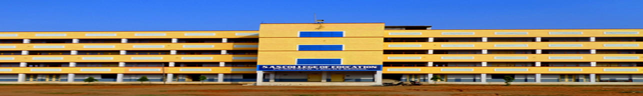 S.A.S College of Education, Trichy