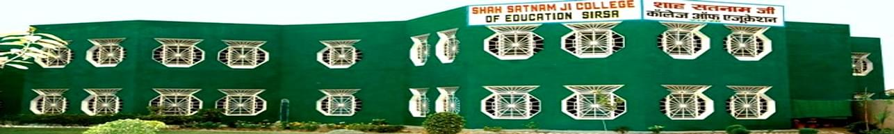 Shah Satnam ji College of Education, Sirsa
