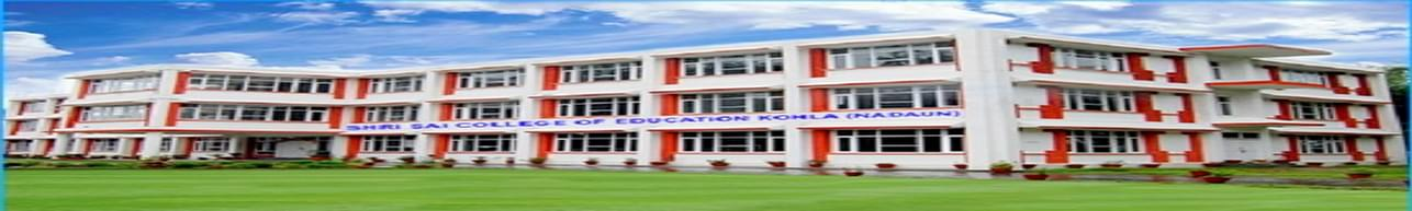 Shri Sai College of Education, Hamirpur