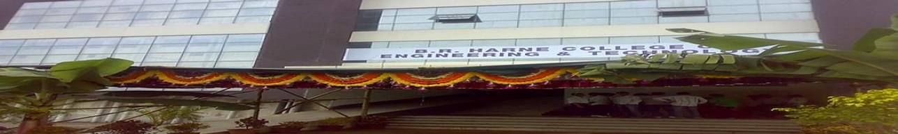 B. R. Harne College of Engineering and Technology - [BRHCET], Thane