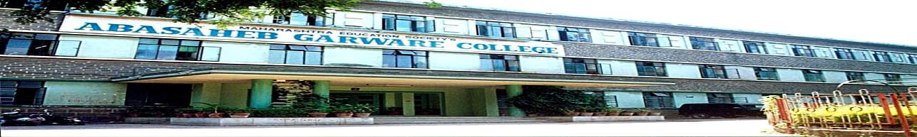 M.E.S. Abasaheb Garware College, Pune - Course & Fees Details