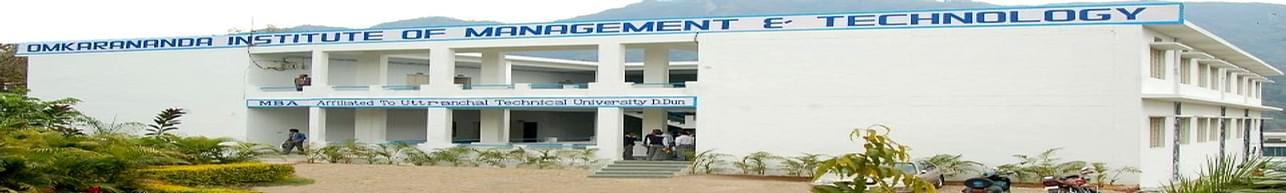 Omkarananda Institute of Management & Technology- [OIMT], Haridwar