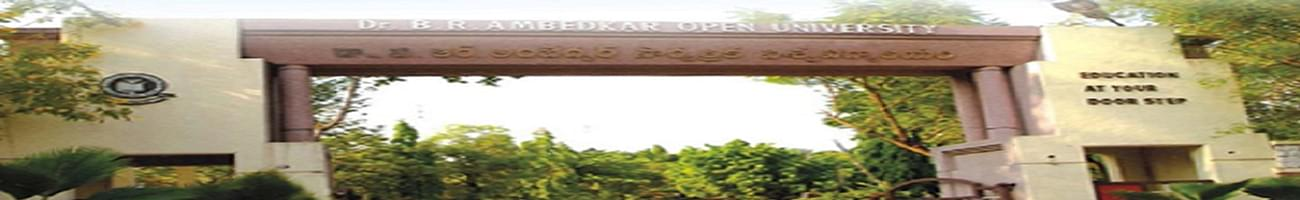 Dr. B.R. Ambedkar Open University - [BRAOU], Hyderabad