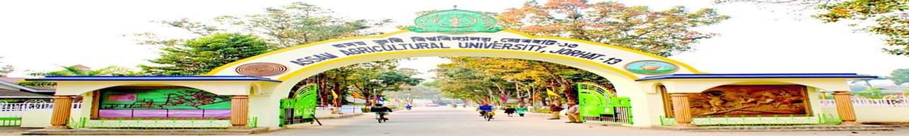 Assam Agricultural University - [AAU], Jorhat