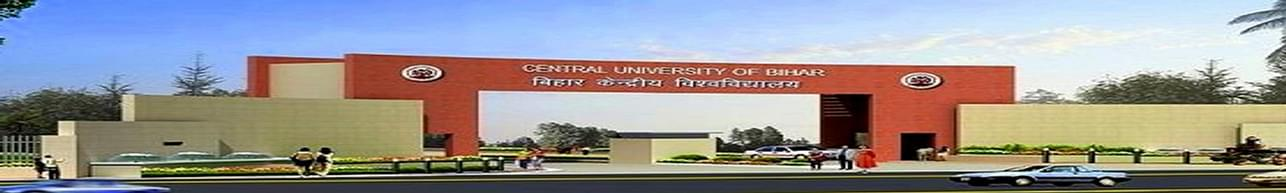 Central University of South Bihar - [CUSB], Gaya - Admission Details 2019
