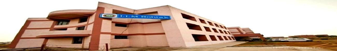Indian Institute of Management - [IIM], Rohtak