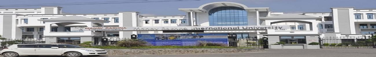 Manav Rachna International Institute of Research and Studies - [MRIIRS], Faridabad
