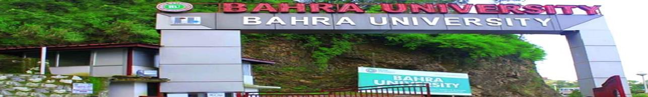 Bahra University - [BU], Shimla