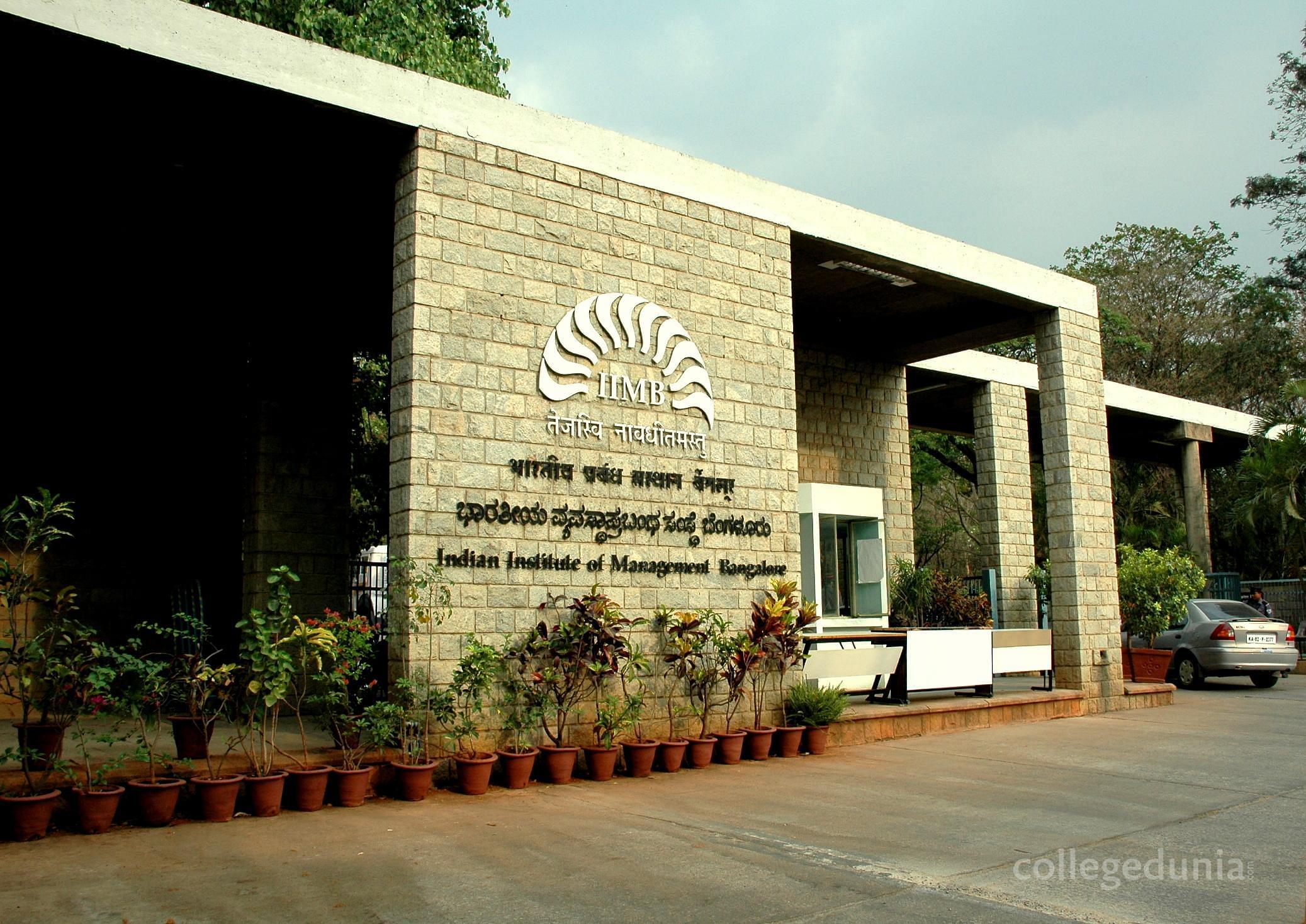 Indian Institute of Management - [IIMB]