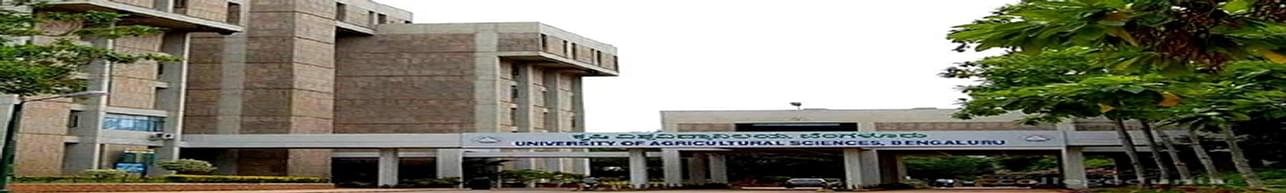 University of Agricultural Sciences - [UAS], Bangalore - Course & Fees Details