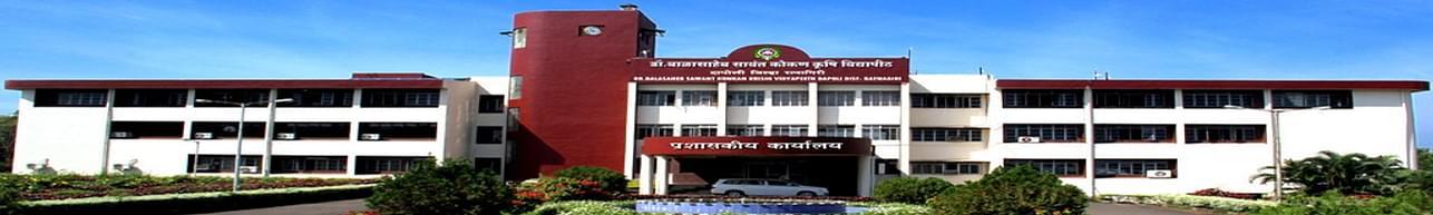 Dr Balasaheb Sawant Konkan Krishi Vidyapeeth - [DBSKKV], Ratnagiri - Course & Fees Details