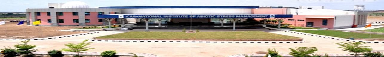 National Institute of Abiotic Stress Management - [NIASM], Pune