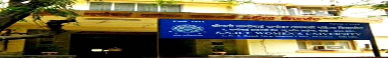 Shreemati Nathibai Damodar Thackersey Women's University - [SNDT], Mumbai - Course & Fees Details