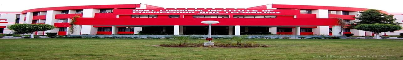 Sant Longowal Institute of Engineering and Technology - [SLIET], Sangrur - Course & Fees Details