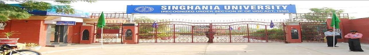 Singhania University, Jhunjhunu