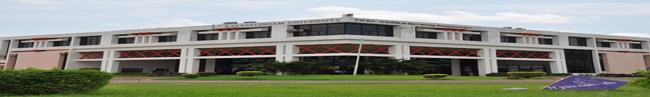 Kalasalingam University - [KLU], Krishnankovil