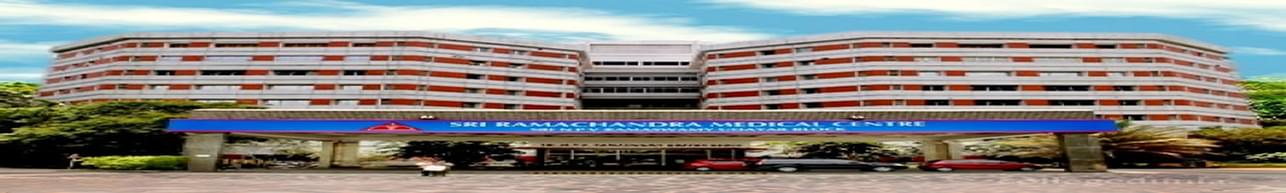 Sri Ramachandra Institute of Higher Education and Research, Chennai - Course & Fees Details