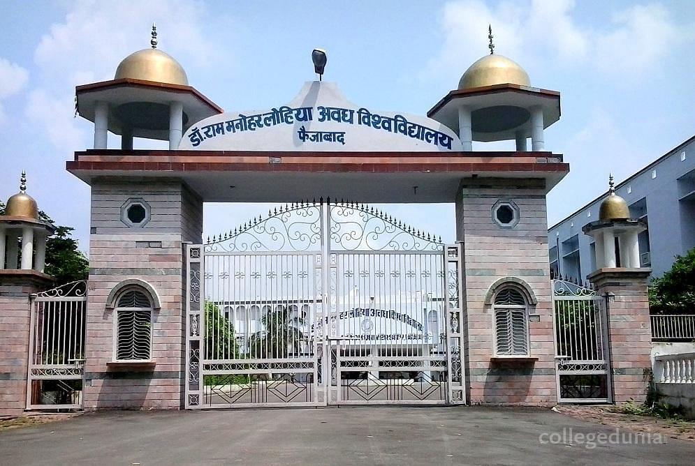Dr  Ram Manohar Lohia Avadh University - [RMLAU], Faizabad