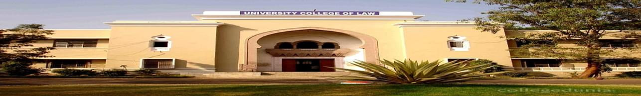 University college of Law, Osmania University, Hyderabad - Course & Fees Details