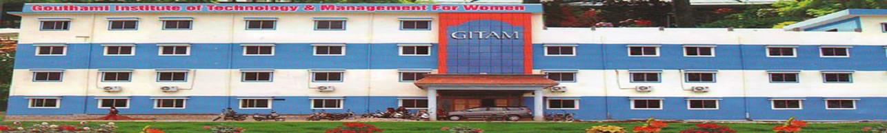 Gouthami Institute of Technology and Management for Women - [GITAMW], Kadapa - Admission Details 2019