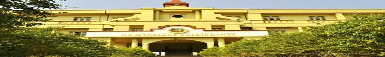 N.A.M College Kallikkandy, Kannur - Course & Fees Details