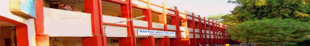 Navyug Arts College, Surat - Course & Fees Details