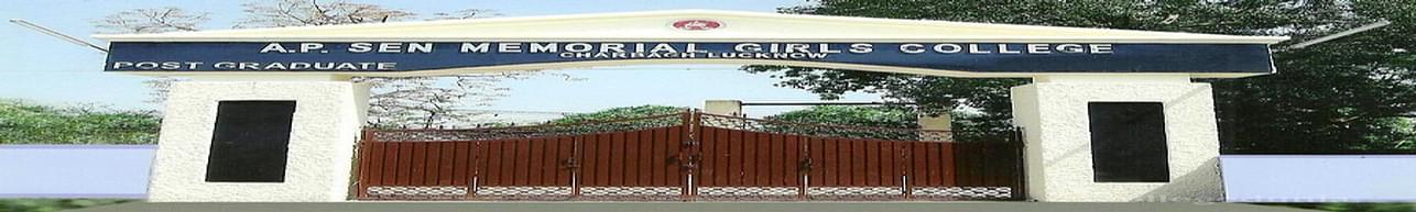 AP Sen Memorial Girls Degree College, Lucknow - Course & Fees Details