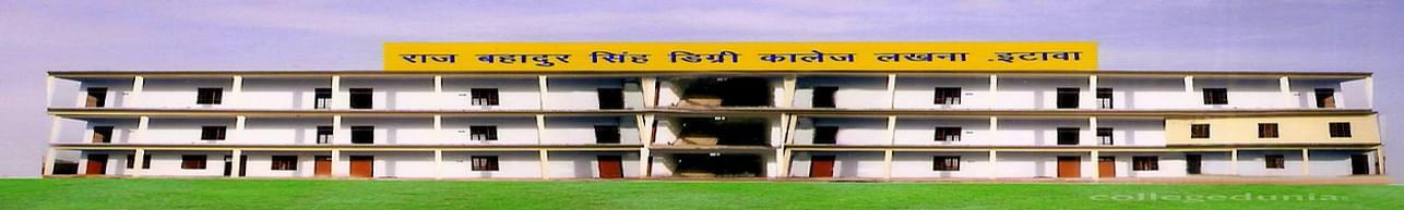Raj Bahadur Singh Degree College - [RBS], Etawah