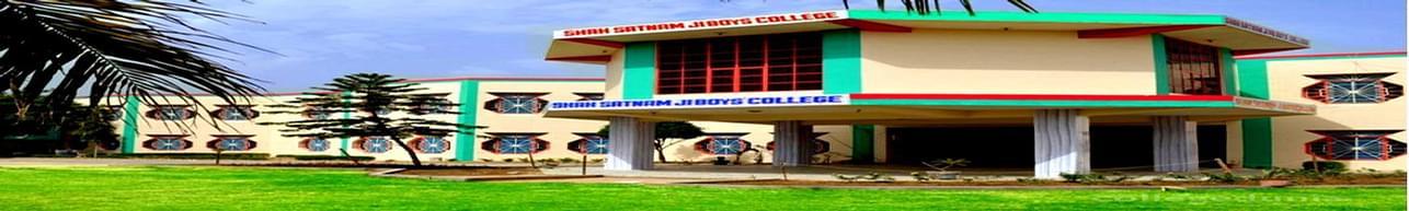Shah Satnam Ji PG Boy's College, Sirsa