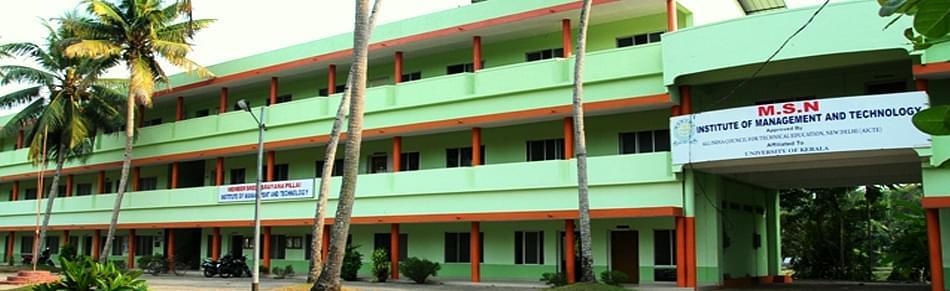 Member Sree Narayana Pillai Institute of Management and Technology - [MSNIMT] Chavara