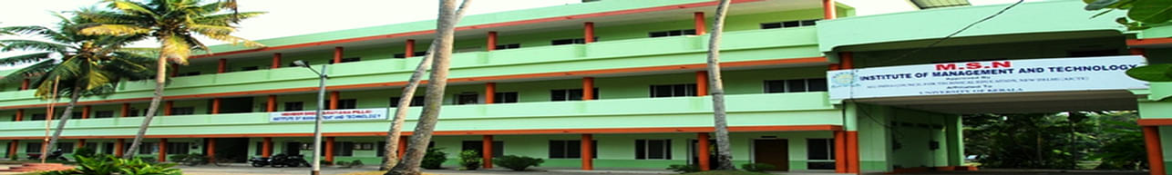 Member Sree Narayana Pillai Institute of Management and Technology - [MSNIMT] Chavara, Kollam