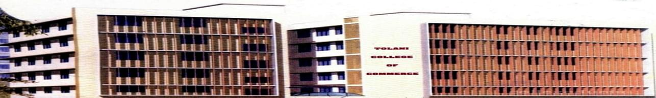 Tolani College of Commerce - [TCC], Mumbai - Course & Fees Details
