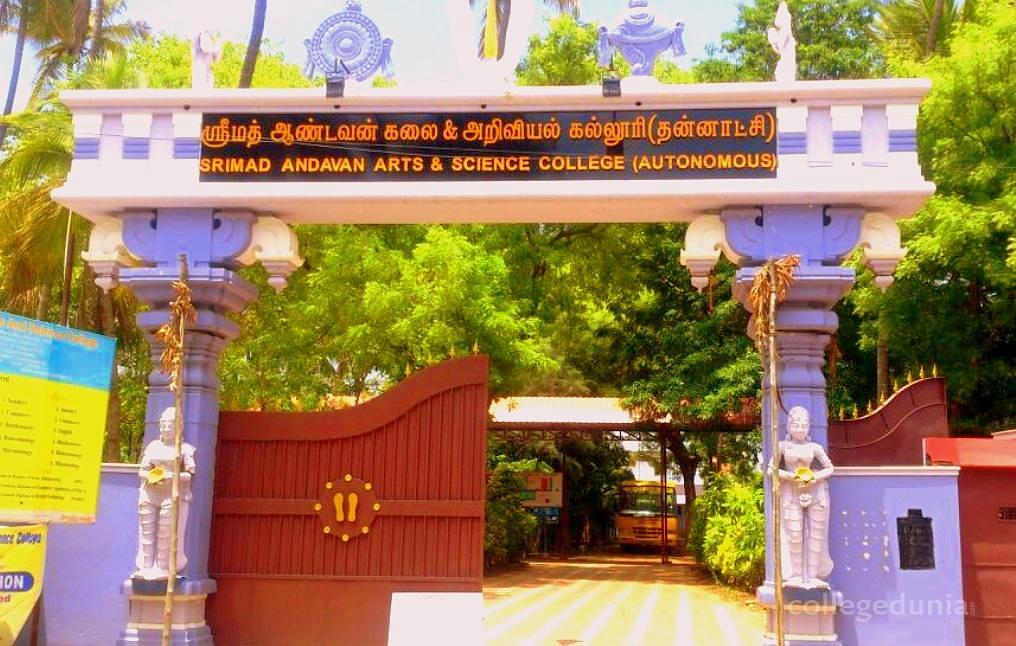 Srimad Andavan Arts and Science College - [SAASC]